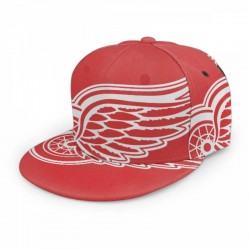 Excellent NHL Detroit Red Wings baseball cap #170907 breathable quick drying