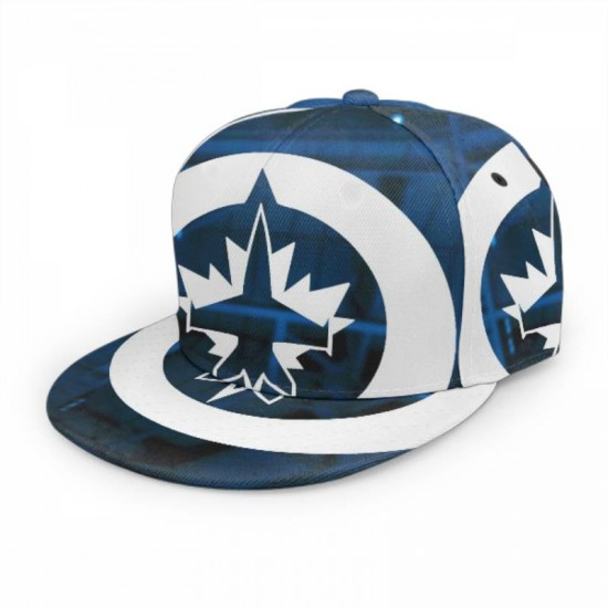 Excellent NHL Winnipeg Jets baseball cap #164970 breathable quick drying